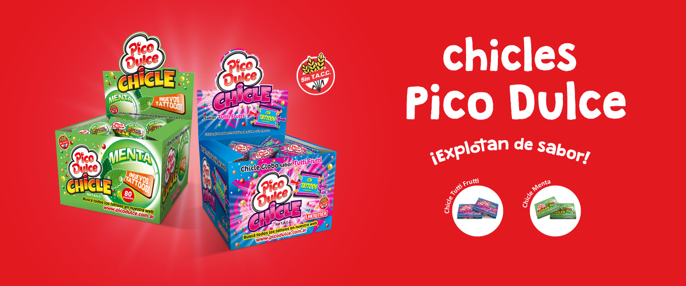 Chicles Pico Dulce